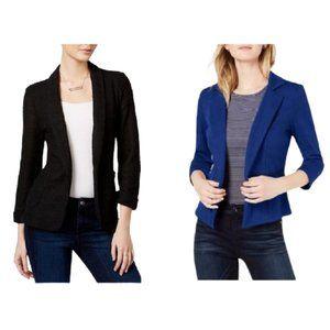 Maison Jules Jersey Knit Blazer XL Black